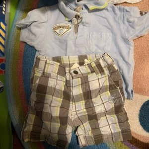 Timberland short set 12 mos
